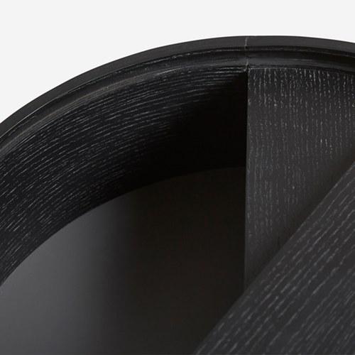 丹麥WOUD ARC圓弧曲線收納咖啡桌