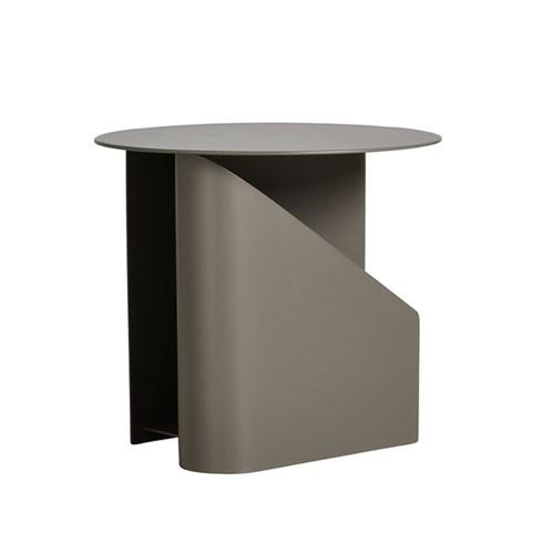 丹麥WOUD SENTRUM金屬收納邊桌 (卡其)