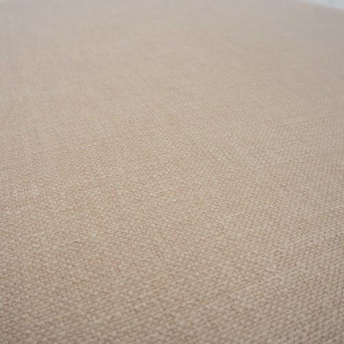 波蘭Sits 圓形布面沙發椅凳 (玫粉)