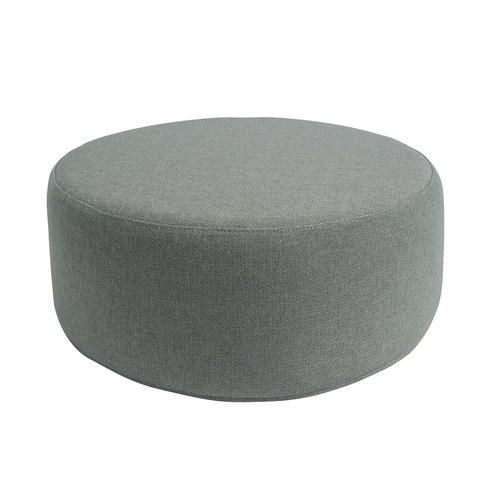 波蘭Sits 圓形布面沙發椅凳 (麻綠)