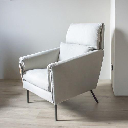 波蘭Sits Penny佩妮姑媽家的珍藏單人沙發 (淺灰褐B)