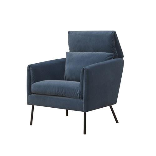 波蘭Sits Penny佩妮姑媽家的珍藏單人沙發 (灰藍B)