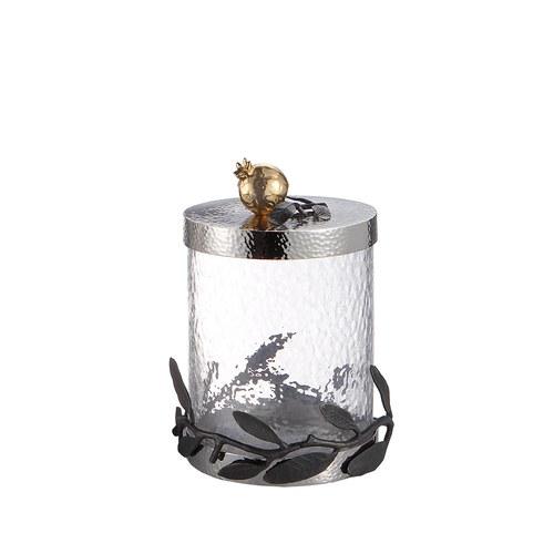 美國MichaelAram工藝飾品 鮮嫩石榴系列收納罐 (高21.6公分)