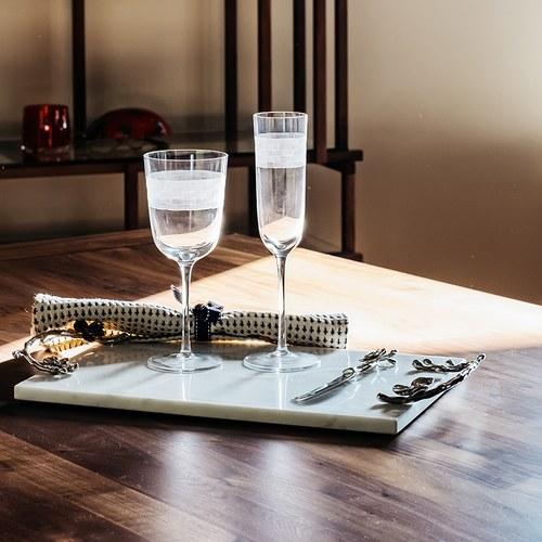 美國Michael Aram工藝飾品 棕櫚系列紅酒杯