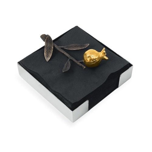 美國MichaelAram工藝飾品 鮮嫩石榴系列餐巾架