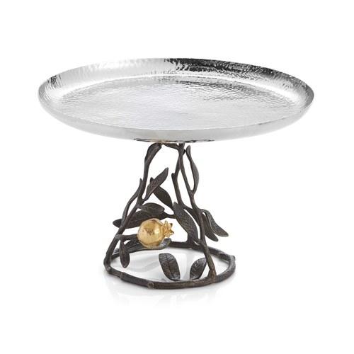 美國MichaelAram工藝飾品 鮮嫩石榴系列單層糕點架