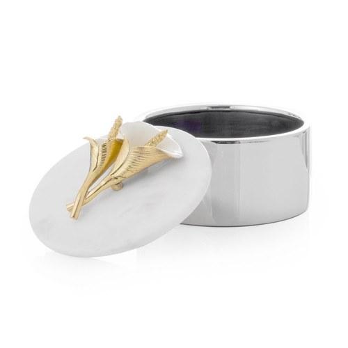美國Michael Aram 幸福海芋系列飾品收納罐