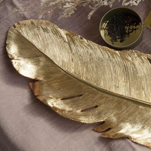美國Michael Aram 輕靈羽毛現代主義造型托盤