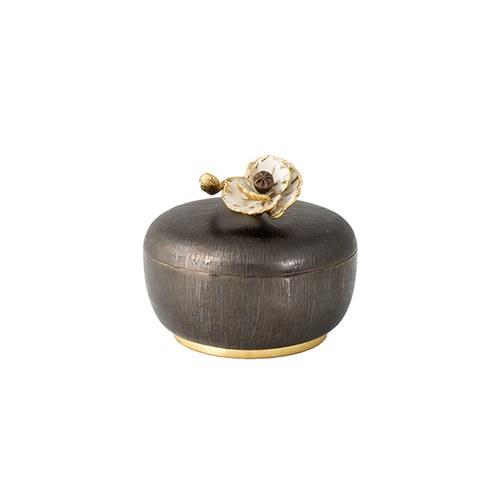 美國MichaelAram 瀲灩銀蓮花裝飾收納盒