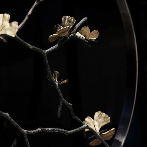 美國Michael Aram 30週年紀念款 銀杏蝴蝶翅膀花窗月拱門擺飾品