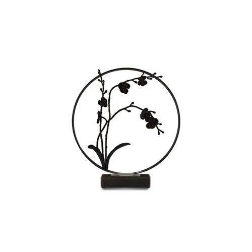 美國MichaelAram 黑蘭花花窗月拱門擺飾品