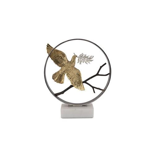 美國Michael Aram 30週年紀念款 和平之鴿花窗月拱門裝飾品