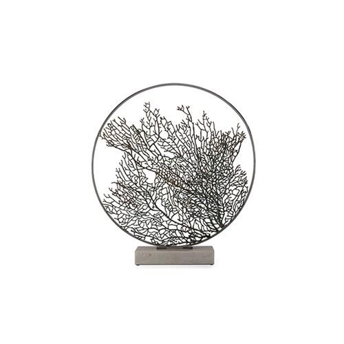 美國Michael Aram 30週年紀念款 擬真扇狀珊瑚花窗月拱門藝術品