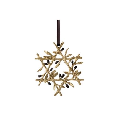 美國Michael Aram 星形橄欖枝條聖誕吊飾