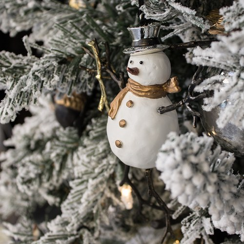 美國Michael Aram 雪人先生聖誕掛飾