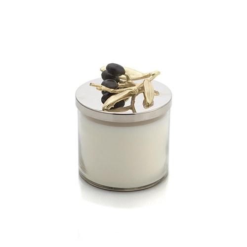 美國Michael Aram工藝飾品 橄欖枝系列經典蠟燭