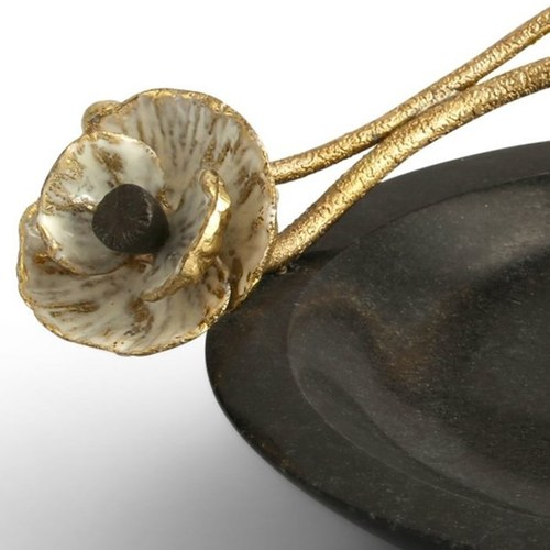 美國MichaelAram 瀲灩銀蓮花飾品托盤