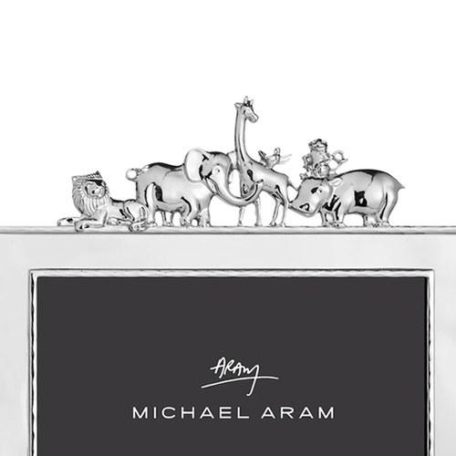 美國Michael Aram 甜蜜動物園系列相框架(銀、5x7吋)