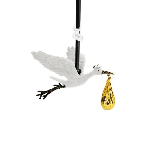 美國Michael Aram 送子鳥吊掛裝飾品 (金)