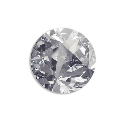 美國TwoPalms藝術掛畫 鑽石 (玻璃背板、長58公分)