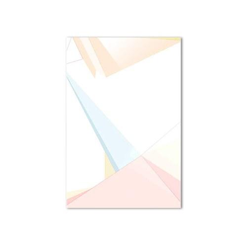 美國TwoPalms藝術掛畫 粉色立體 (玻璃背板、長91公分)