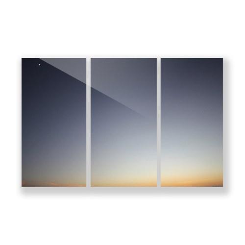 美國TwoPalms藝術掛畫 蒼蒼暮色 (玻璃背板、長183公分)