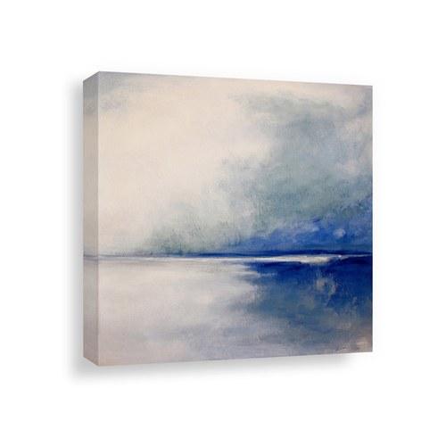 美國TwoPalms藝術掛畫 藍色風暴 (帆布、長102公分)