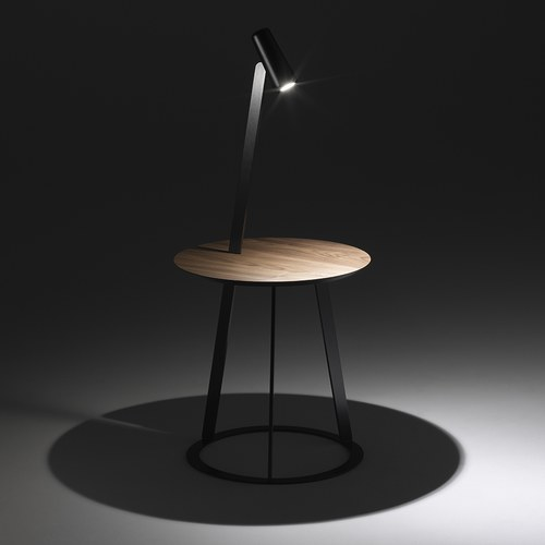 義大利 HORM ALBINO立燈圓形邊桌