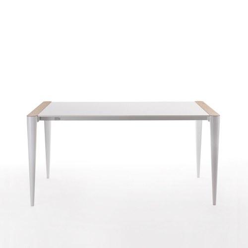 義大利HORM BOLERO極致奈米科技極簡錐形腳餐桌 (白、172x88公分)