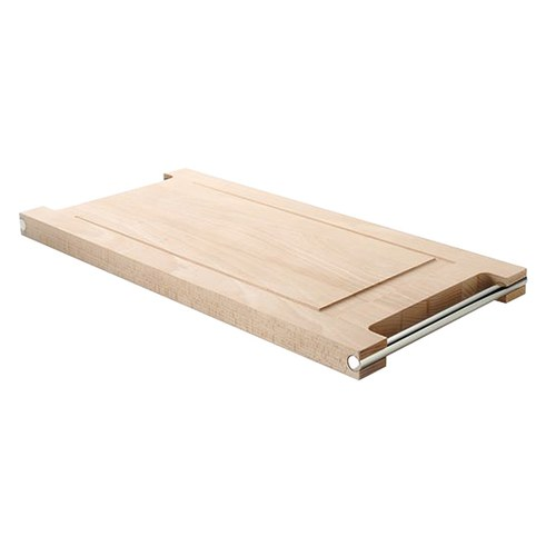 義大利MESA 簡約凹槽木質餐板
