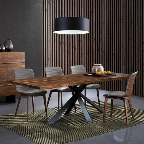 義大利Oliver B 立體軸根枝狀實木餐桌 (長180公分)