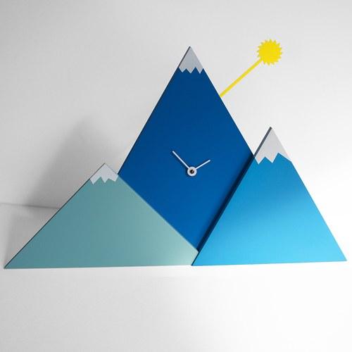 義大利 Progetti 山丘落日立鐘 (藍)