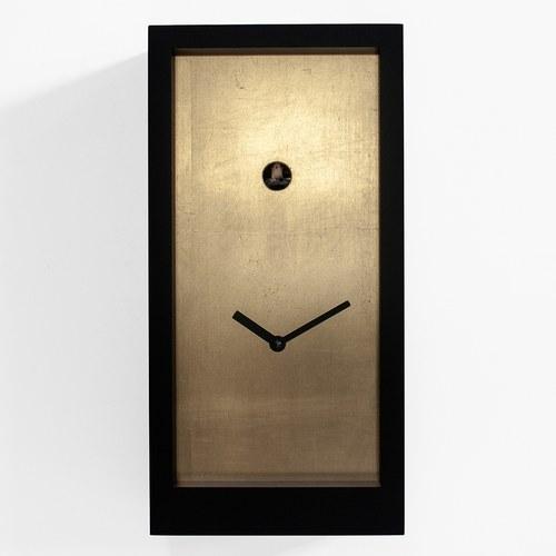 義大利 Progetti 金屬面板盒子咕咕鐘 (黃銅)