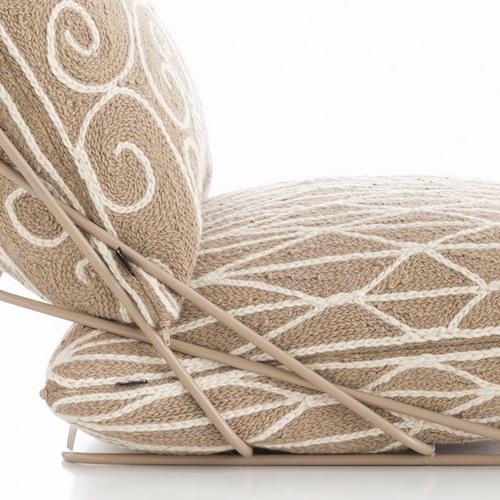 西班牙GanRugs 古典編織休閒椅 (米)