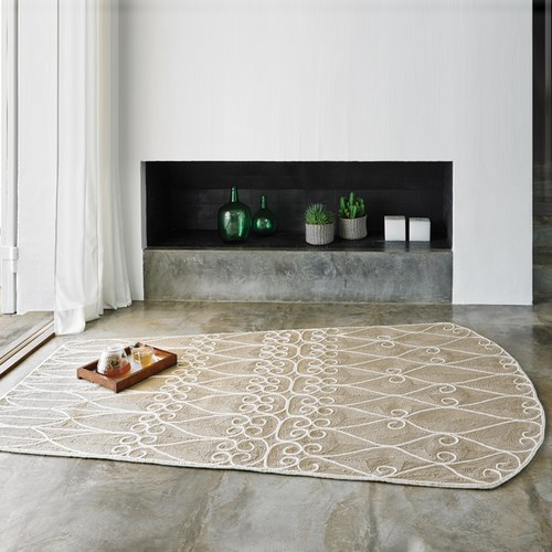 西班牙GanRugs 古典編織楔型地毯 (米)