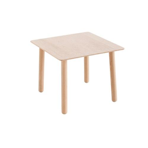 西班牙GanRugs 細刻菱紋橡木方桌 (長50公分)