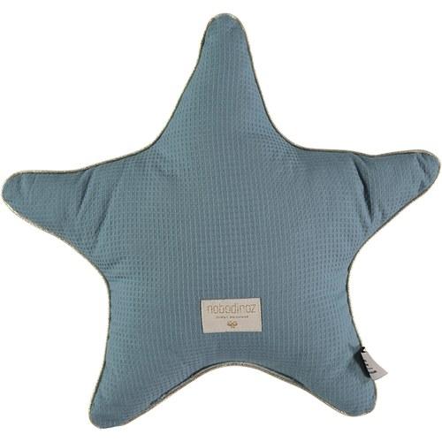 西班牙Nobodinoz有機棉小星星靠枕 (魔法綠)