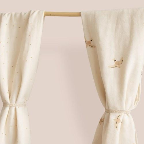 西班牙Nobodinoz有機棉新生兒寶寶嬰兒包巾禮盒 (小飛鳥)