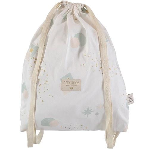 西班牙Nobodinoz有機棉輕巧出遊兒童背包 (白日夢小太陽)