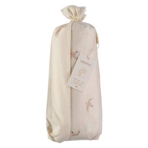西班牙Nobodinoz有機棉嬰兒床床包 (小飛鳥)