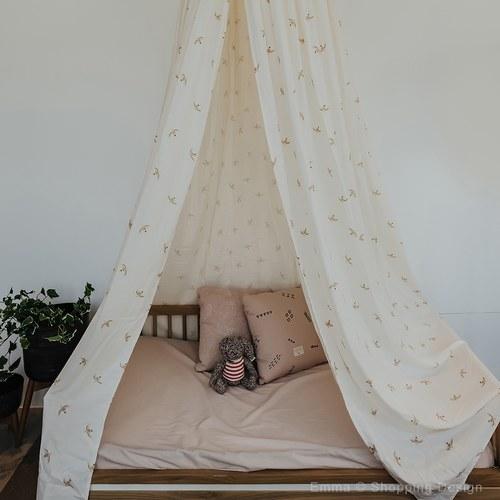 西班牙Nobodinoz有機棉 魔法帷幕帳篷 (小飛鳥)