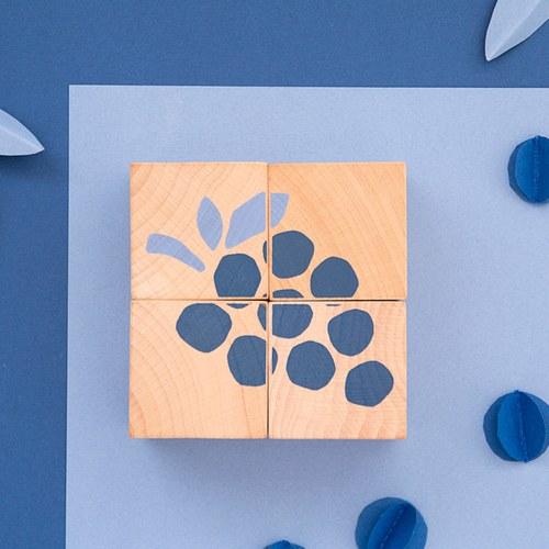 西班牙Nobodinoz 木製配對學習積木 (好吃的水果)