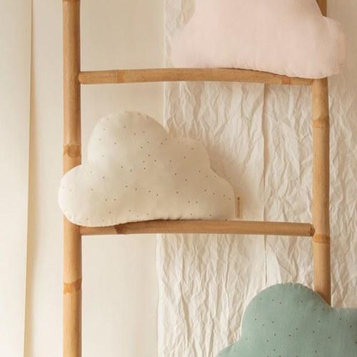 西班牙Nobodinoz有機棉 奶糖雲朵靠枕 (甜蜜點點)
