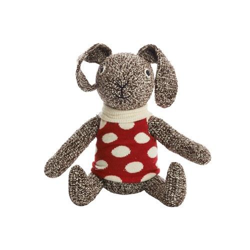 荷蘭ACP 紅底點點上衣兔子玩偶