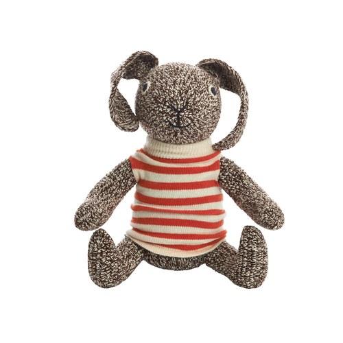 荷蘭ACP 橘條紋上衣兔子玩偶