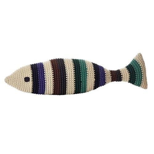 荷蘭ACP 深色條紋魚玩偶