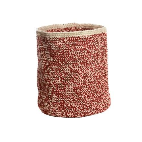 荷蘭ACP 紅色編織收納籃