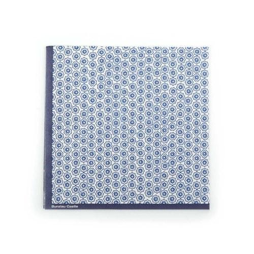 荷蘭BunzlauCastle 同心圓餐巾紙 (白)