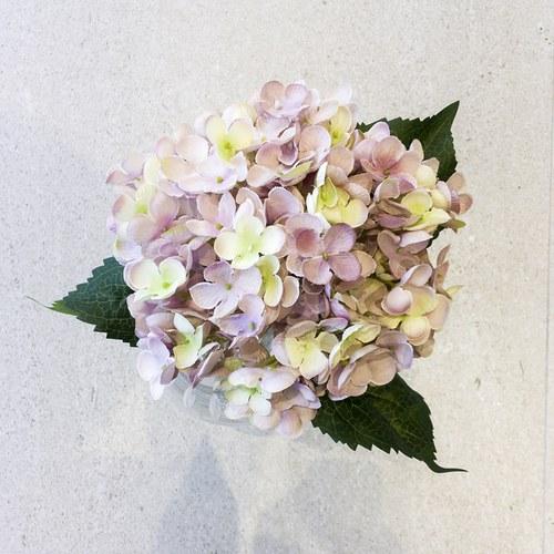 荷蘭Emerald人造花藝 藕粉色繡球花 (長52公分)