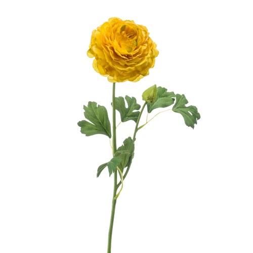 荷蘭Emerald人造花藝 桔黃色花毛茛